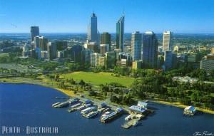 Vé máy bay đi perth Úc