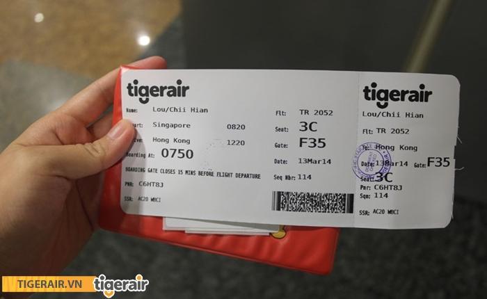vé máy bay Tiger Air