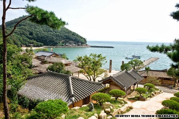 Những hòn đảo tuyệt đẹp xứ Hàn