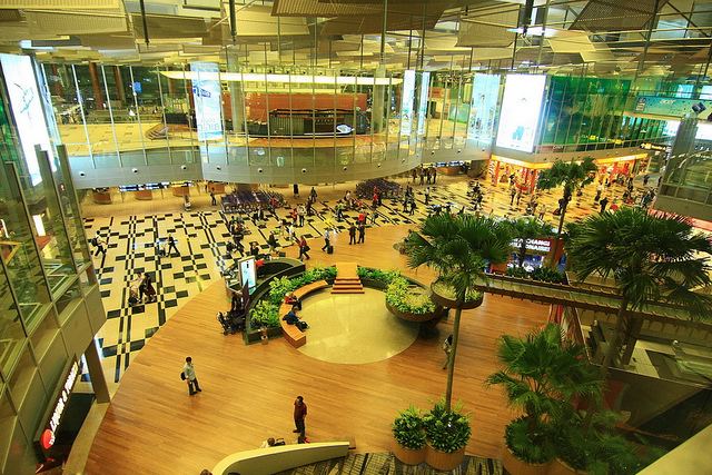 Tham quan sân bay Singapore Changi