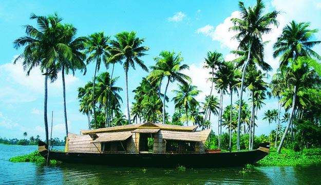 nhà thuyền tham quan ven biển Kerala kochi