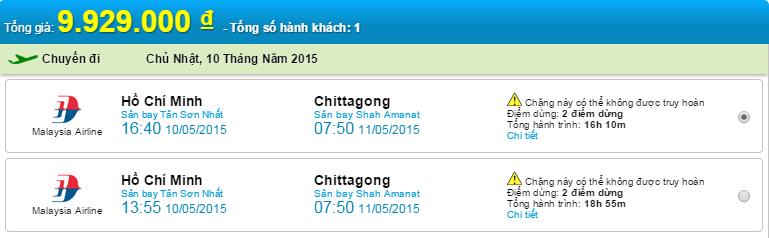 HCM-Chittagong