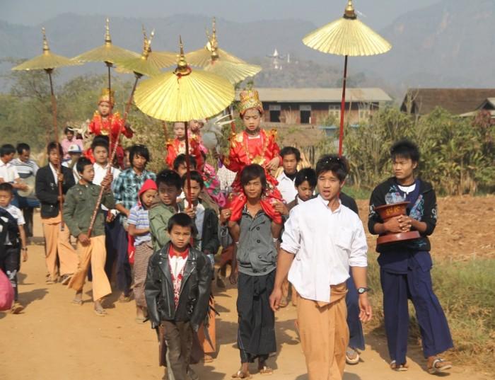 Lễ xuất gia Myanmar2