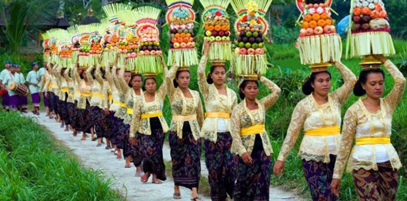 Bali có rất nhiều lễ hội độc đáo