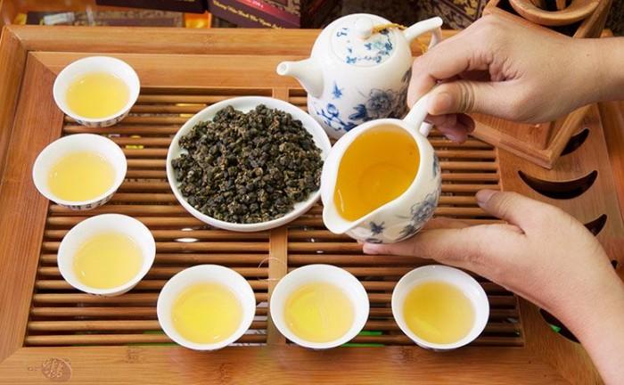 trà ô long hạ môn