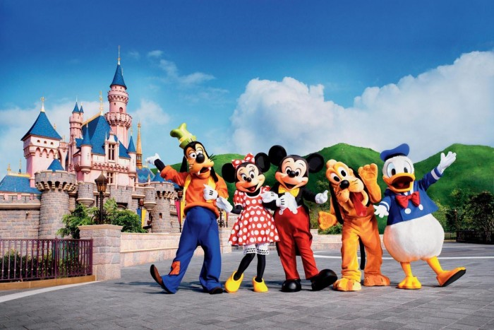 Disneyland hồng kông