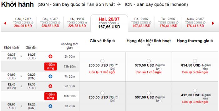HCM-Seoul Air Asia