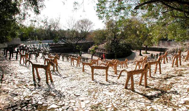 Khu vườn đá Nek Chand1