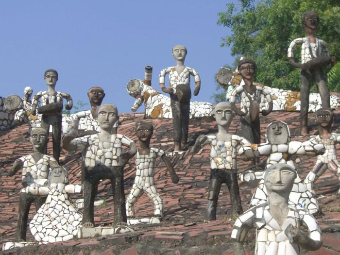 Khu vườn đá Nek Chand3