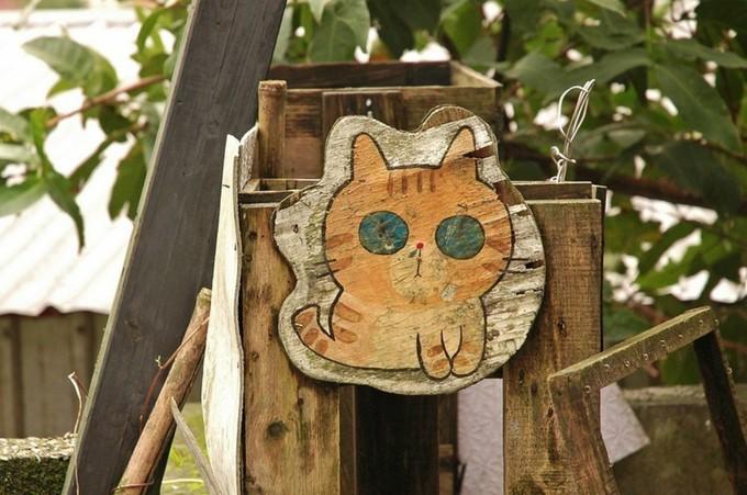 làng mèo Houtong Đài Loan 1