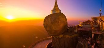 Chùa núi Vàng Myanmar – kiệt tác của tạo hóa