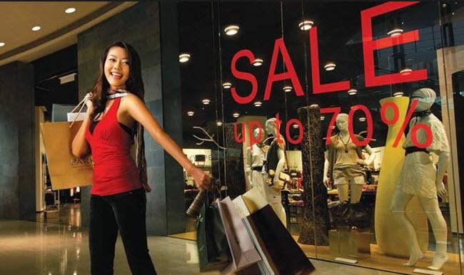 mua sắm singapore