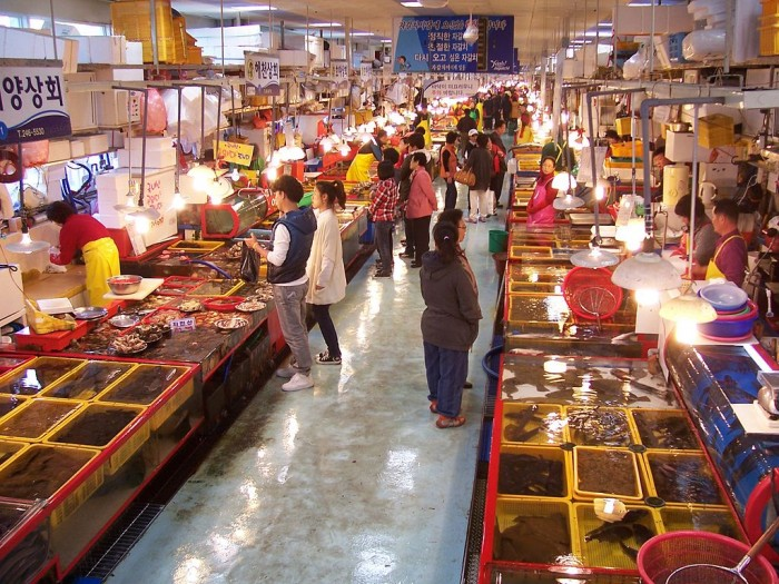Chợ cá Jagalchi2