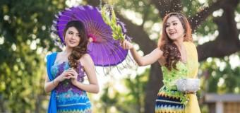 Du lịch Myanmar tham gia Lễ hội té nước cầu may