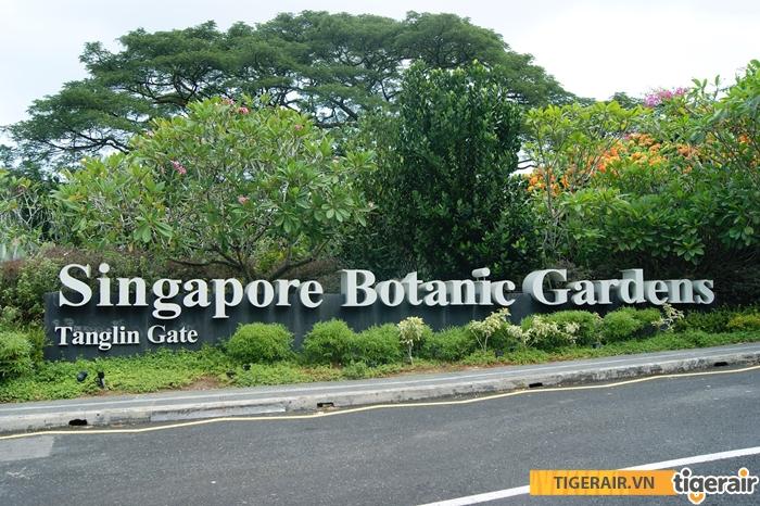 vuon bach thao Botanic Garden