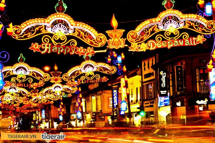 le hoi hoa dang Deepavali