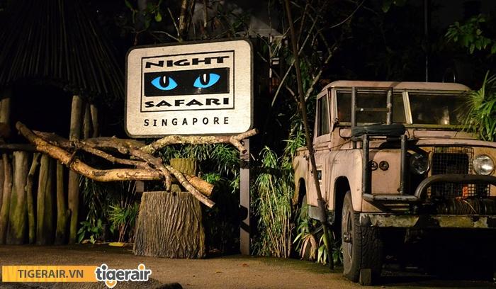 Công viên thú đêm Night Safari