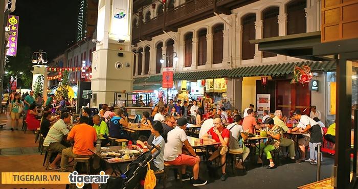 Khu ăn uống Chinatown