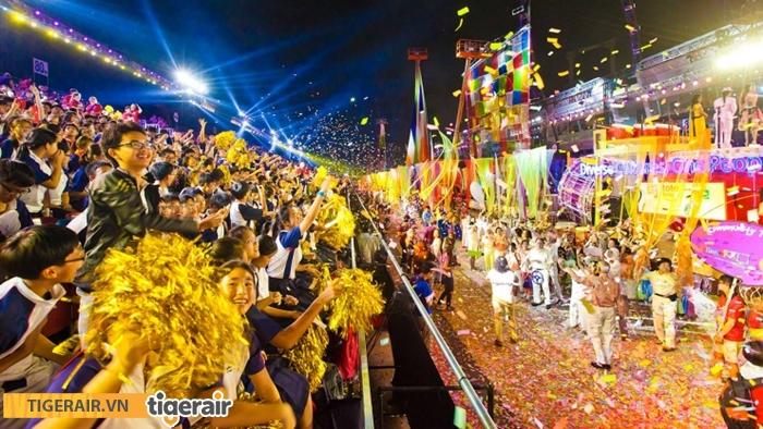 Lễ hội hóa trang đường phố Chingay