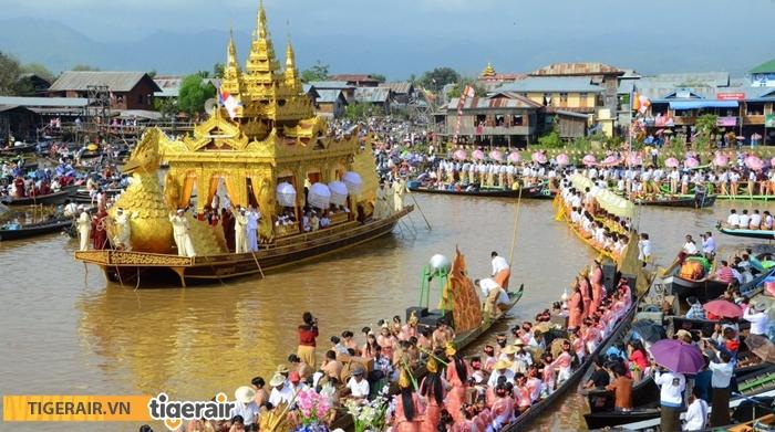 Lễ hội chùa Phaung Daw Oo