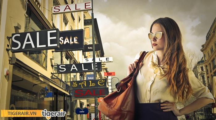 Mùa mua sắm giảm giá Singapore