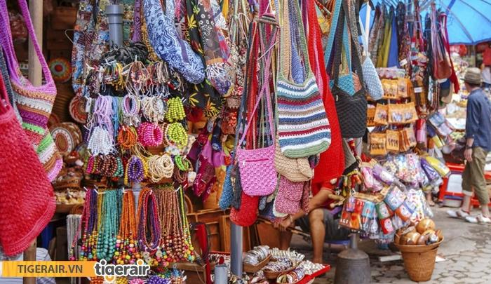 Mua sắm ở Ubud