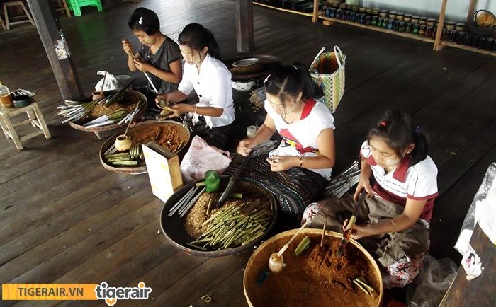 Làng nghề làm xì gà truyền thống