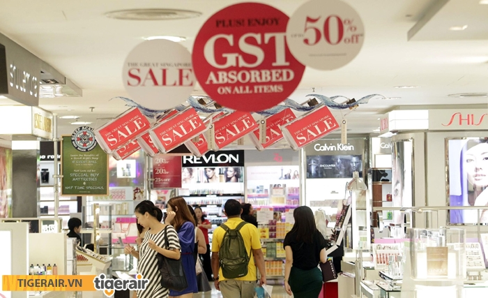 Lễ hội mua sắm giảm giá Singapore