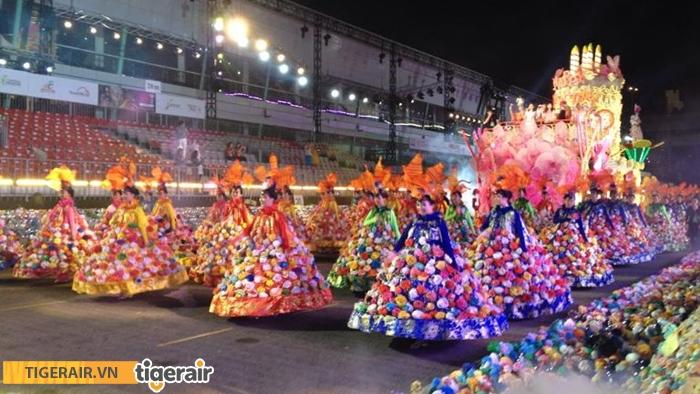 lễ hội diễu hành đường phố Chingay