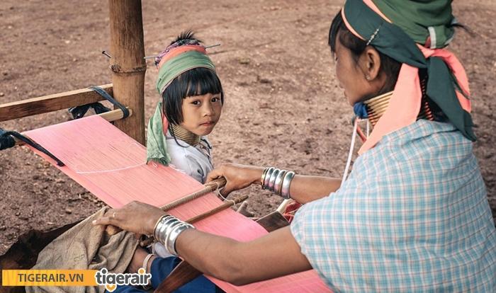 Bộ tộc Kayan Myanmar