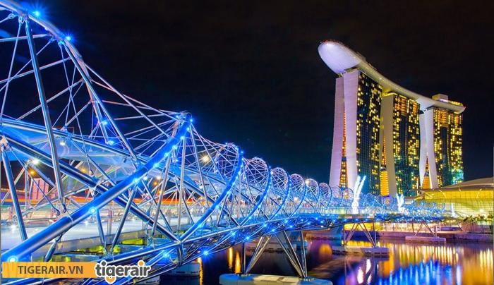 Cầu đi bộ Helix Bridge