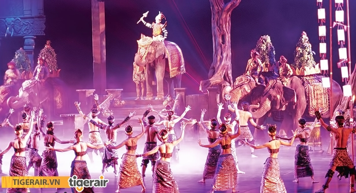Xem show diễn Phuket Fantasea