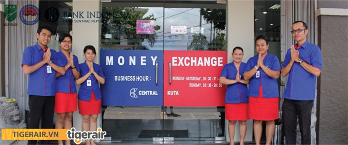 Các quầy đổi tiền được cấp phép