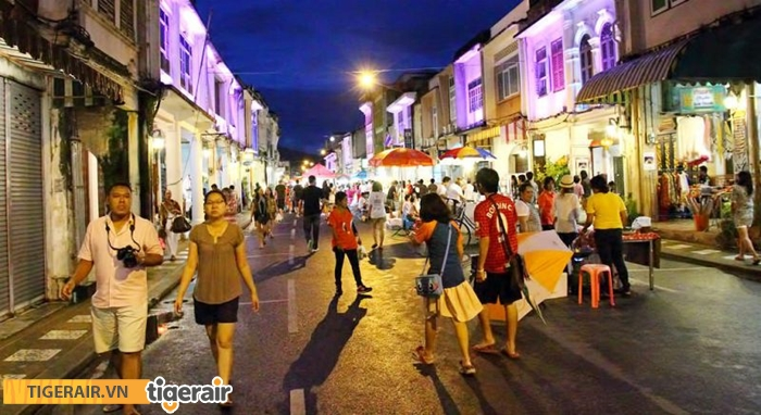 Dạo phố cổ Phuket