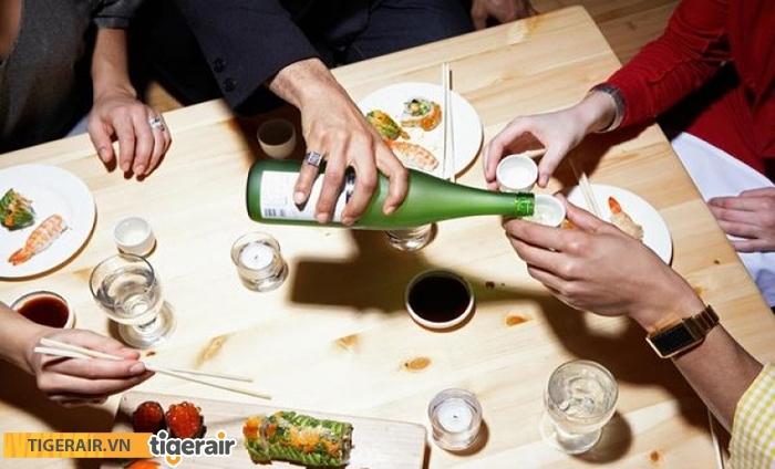 Văn hóa uống rượu của người Hàn Quốc
