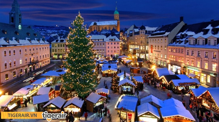 Khu chợ Giáng sinh ở Blue Mountains