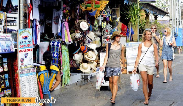 Mua sắm Bali