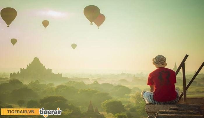 Trải nghiệm khinh khí cầu Bagan