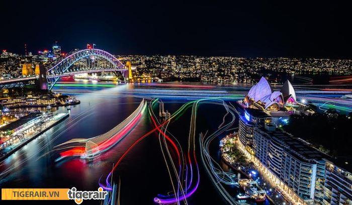 Lễ hội ánh sáng Vivid Sydney