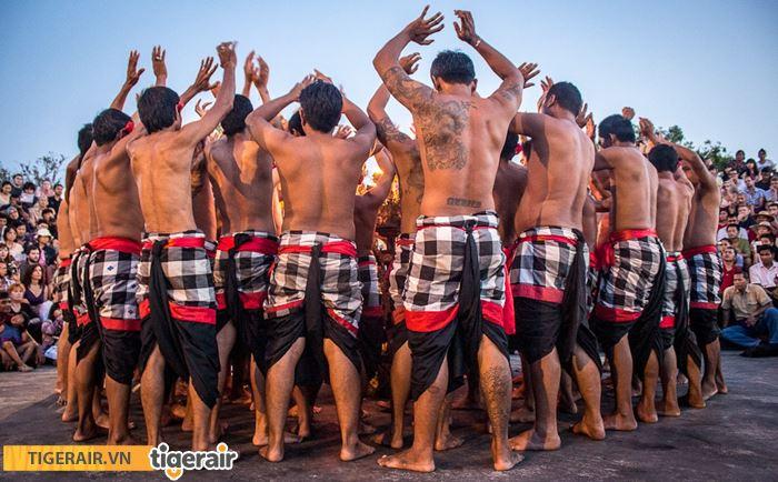 Múa kecak truyền thống