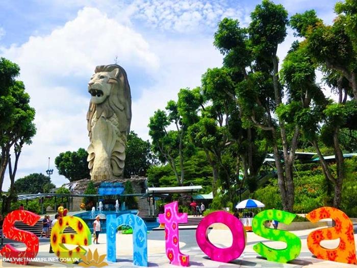 Đảo Sentosa thiên đường vui chơi ở Singapore
