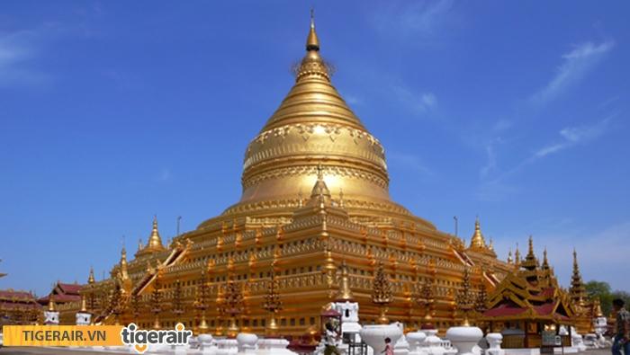 Chùa vàng Shwedagon Myanmar