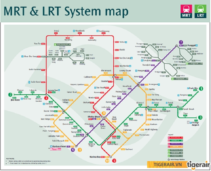 Nên mua bản đồ MRT khi di chuyển